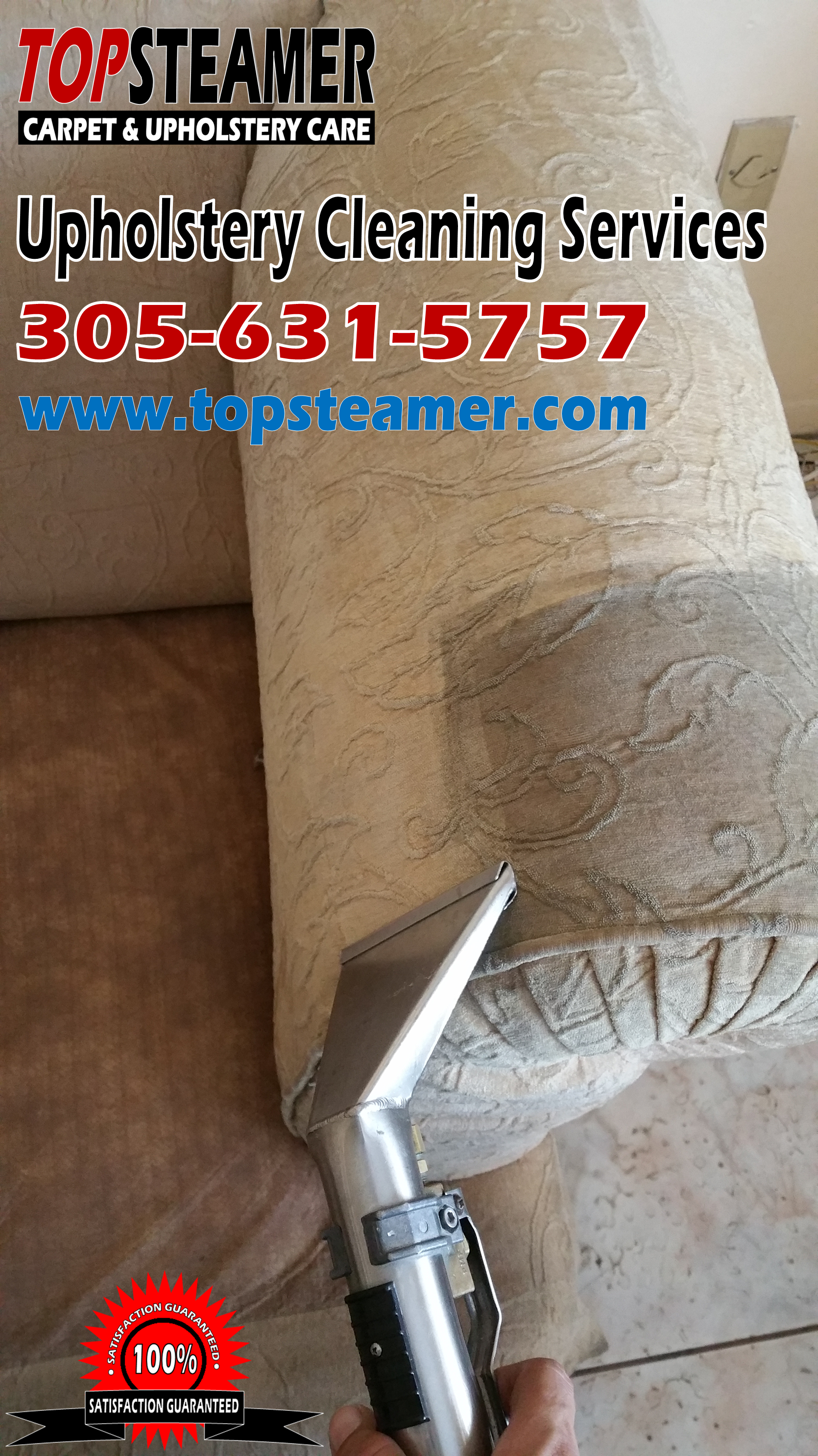 Miami Sofa Cleaner 305 631 5757